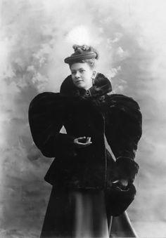 Addie in 1894