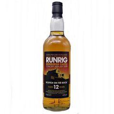 Aberlour 12 year old Runrig Edinburgh Castle Scotch on the Rock 2008 Whisky Shop, Single Malt Whisky, Edinburgh Castle, 12 Year Old, Scotch Whisky, Distillery, Hot Sauce Bottles, The Rock, Whiskey