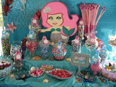 "Photo 2 of 8: Mermaid Theme / Birthday ""Under the Sea Mermaid Theme"" 