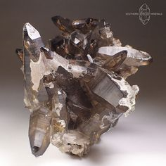 Wow! Smoky Quartz, Black Tourmaline and Hyalite Crystal Cluster, Erongo Namibia | Collectibles, Rocks, Fossils & Minerals, Crystals & Mineral Specimens | eBay!