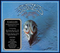 The Eagles Their Greatest Hits Volumes 1 & 2 Vinyl Sales aren't always a testament to greatness. But in the case of the Eagles' Their Greatest Eagles Album Covers, Eagles Albums, Rock Album Covers, Classic Album Covers, Music Album Covers, Eagles Band, The Eagles, Eagles Songs, Eagles Music