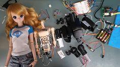 Smart Doll Plus inner robotics progress. It can lift 9 KGs. スマートドールプラスの内部構造進歩。9キロも持ち運べる。