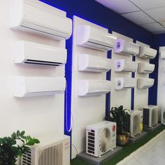 Do you want to buy an air conditioner for your home? You should go with OR Marketing as this is one of the best air conditioner sellers in the market. Here you can find out various different סוגימזגנים. So make a buy a classy AC in your budget now! Air Conditioning Services, Heating And Air Conditioning, Finished Garage, Showroom Interior Design, Electronic Shop, Multipurpose Room, Retail Store Design, Design Research, Shop Interiors