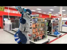 Fursuiting at a mall! - im going to cry