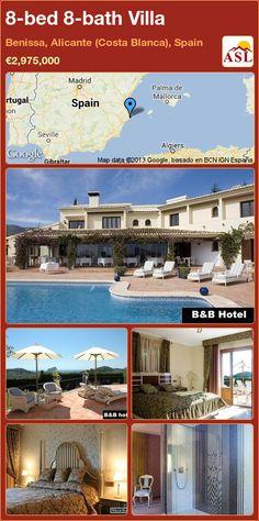 8-bed 8-bath Villa in Benissa, Alicante (Costa Blanca), Spain ►€2,975,000 #PropertyForSaleInSpain