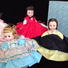 Vintage Madame Alexander Little Women Dolls with Boxes Set of 5 1960 65 | eBay