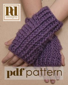 Ravelry: Cabled Fingerless Gloves pattern by Pamela Dempsey