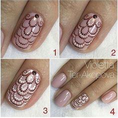 Doodles spezielles Tutorial - Nail Designs and Nail Art Tips, Tricks Fabulous Nails, Gorgeous Nails, Pretty Nails, Fancy Nails, Diy Nails, Diy Ongles, Crome Nails, Nagel Hacks, Nagellack Design