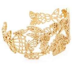 Kate Spade New York Golden Age Cuff Bracelet ($99) ❤ liked on Polyvore featuring jewelry, bracelets, gold, cuff bangle, cuff bracelet, kate spade bangle, etched jewelry and kate spade jewelry