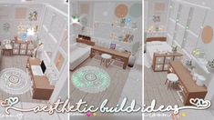 Aesthetic Bloxburg Room Build Ideas Tiktok | Compilation | Kayxllaa
