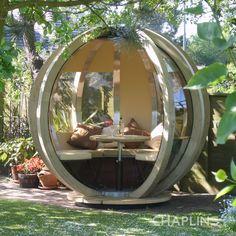 Rotating Garden Sphere Lounger