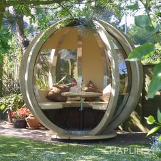 Rotating Garden Sphere Lounger