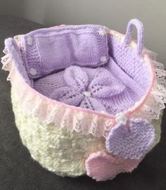 Handmade New Baby Shower Gift Purple and white Crochet Baby Blanket Snugly Throw, Afghan, Moses Basket, Travel Seat Coverlet Baby Shawl, Baby Blanket Crochet, Crochet Baby, Crochet Toys, Doll Clothes Patterns, Doll Patterns, Double Knitting, Baby Knitting, Aran Weight Yarn