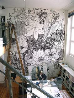 definitely making a wall like this one day=]