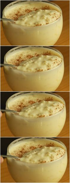 Cook rice in water with cloves and orange peel, # recipe # cake # pie # sweet # dessert # birthday # pudding # mousse # pave # Cheesecake # chocolate # confectionery # <-> <-> Rice Recipes, Sweet Recipes, Dessert Recipes, Cooking Recipes, Delicious Desserts, Yummy Food, Portuguese Recipes, No Cook Meals, Food And Drink