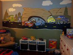Cars Theme Room...I wish, so cute!