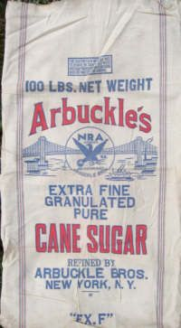 i wanna make a pillow outta this Feed Sack Bags, Coffee Sacks, Vintage Farm, Vintage Kitchen, Vintage Packaging, Feather Pillows, Antique Tools, Burlap Crafts, Grain Sack