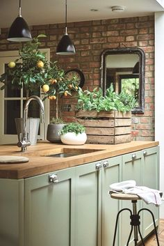 The Most Popular Small Kitchen Ideas - Decorating Solutions for Your Kitchen . - Most Popular Small Kitchen Design Ideas – Decorating Solutions for your Kitchens … - Farmhouse Kitchen Cabinets, Farmhouse Style Kitchen, Modern Farmhouse Kitchens, Kitchen Cabinet Design, Country Kitchen, Cool Kitchens, Farmhouse Sinks, Rustic Farmhouse, Kitchen Modern