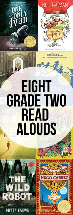 Eight Grade Two Read Aloud Chapter Books (they are also great audiobooks)