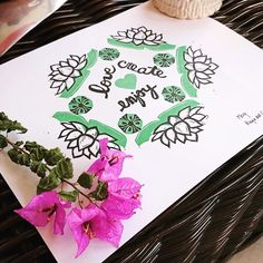 Lotus flower mandala Lotus Flower Mandala, Stamp, Create, Flowers, Prints, Stamps, Royal Icing Flowers, Flower, Florals