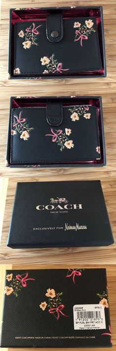 Business and credit card cases 105544 nwt kate spade maple court business and credit card cases 105544 nwt coach 1941 floral print accordion card case black reheart Image collections