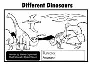 Dinosaur Sight Word Emergent Reader - outlines information about the different dinosaurs.