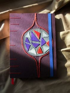 Hand-crafted journal, by The Great Thumb, 17x22,5 cm, cover; 15x21cm