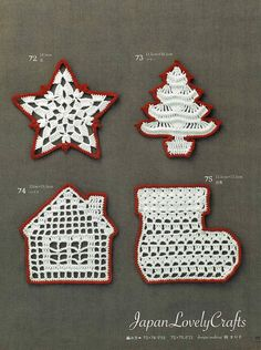 Items similar to Crochet Christmas Ball, Ornaments & Wreath Patterns, Japanese Crochet Pattern Book, Crochet Ornament Patterns, Crochet Snowflake Pattern, Christmas Crochet Patterns, Holiday Crochet, Crochet Snowflakes, Crochet Motif, Crochet Doilies, Crochet Christmas Ornaments, Christmas Crafts