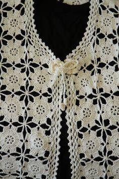 Melahat'in Tasarimlari Ve Elİşlerİ Crochettunicpattern - Fok Ma - Diy Crafts - DIY & Crafts Crochet Jacket Pattern, Crochet Stitches Patterns, Crochet Motif, Crochet Shawl, Hand Crochet, Diy Crochet Sweater, Crochet Blouse, Crochet Clothes, Diy Crafts Crochet