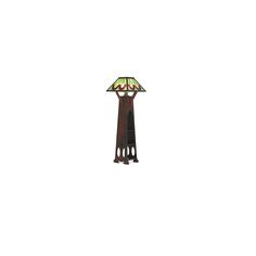 "Floor lamp, Cincinnati, OH, ca. 1910 Oak, leaded slag glass, single socket 74"" x 24 1/2"" sq. SHOP OF THE CRAFTERS | Rago Auctions Craftsman Furniture, Art Decor, Home Decor, Cincinnati, Floor Lamp, Past, Lamps, Arts And Crafts, Auction"