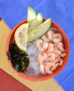 Refreshing sunomono salad - most enjoyed on a hot summer day! Gluten Free Sushi, Gluten Free Soy Sauce, Hot, Summer, Summer Time