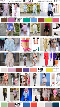 Fashion Trend Report for 2018 Spring Summer. All the biggest Spring Summer 2018 fashion trends in one place. Check what's in fashion for SS 2018 now!