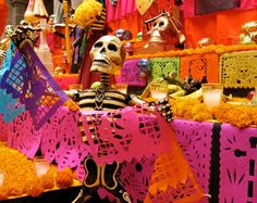 Dia De Los Muertos celebration will be held Nov. 2nd by OASIS @ 6pm. UNL Union. Free admission. Open to the publie. Music, food and alter viewing!