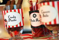 Pirate Themed Birthday Party - Pirate Party Ideas |