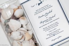 All wedding invitations can be customized to suit your style, we can change any and all colors, fonts, images etc. We can mix and match between existing designs or start from scratch. This design is perfect for any nautical or coastal wedding!