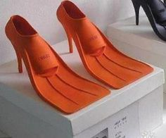 Ridiculous duck flipper shoes by Fortaleza Bela. Follow RUSHWORLD! We're on the hunt for everything you'll love, and weird stuff too!