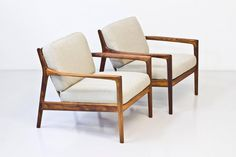 """USA 75"" Easy Chairs by Folke Ohlsson 2"