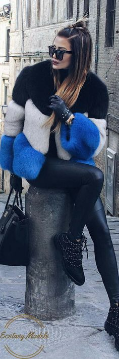 Custom Made Fur // Fashion Look by @realfashionist
