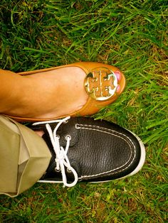 sperry and tory, they are forever a perfect match