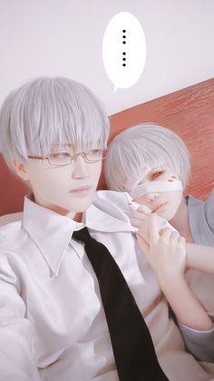 東京喰種:re - mianmian(绵绵) Kisho Arima, Takuwest(沢西) Ken Kaneki Cosplay Photo - Cure WorldCosplay