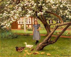Hans Andersen Brendekilde, Onder de appelbloesems