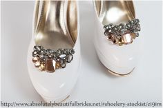 Shoelery available from Absolutely Beautiful Brides, Gordon's Bay, Western Cape Your Shoes, New Shoes, Beautiful Bride, Cape, Brides, Jewelery, Fashion, Mantle, Jewels