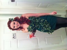 Poison ivy costume by Pearl Bespoke Dressmakers