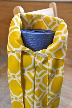 Yoga Mat Bag - Yellow