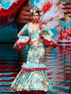 Simof 2017: el desfile de María Ramírez Flamencas, en fotos Fishtail, Mermaid, Dresses With Sleeves, Formal Dresses, Long Sleeve, Flamenco Dresses, Trumpet, Spain, Fashion