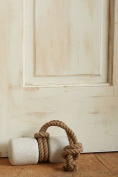 Anthropologie Tied Marble Doorstop #AnthroFave
