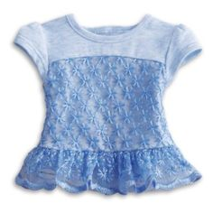 Peplum Top for 18-inch Dolls | American Girl