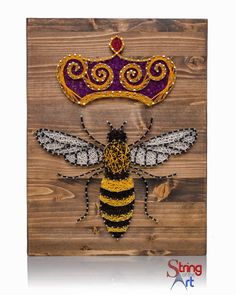 Queen Bee String Art DIY Kit