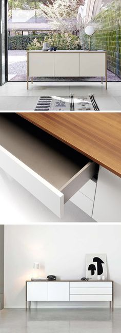 Punt Sideboard Tactile Modern architecture, Modern and Shelves