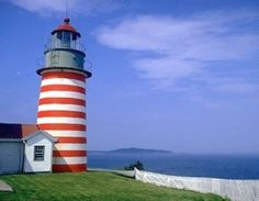 Quoddy Head state park, Maine Love it, my favorite lighthouse!